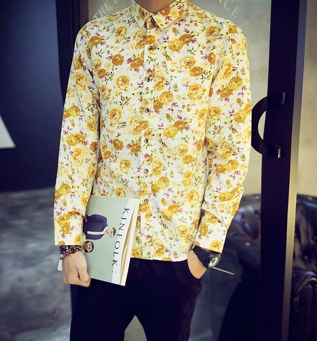 找到自己韓國.花襯衫.男裝.合身.花美男.寬鬆.窄.英倫正韓公司貨東大門正韓代購