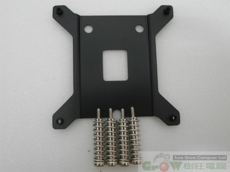 [地瓜球@] 北極風 INTEL 原廠 1156 1155 1151 CPU 風扇 專用強化背板~改善主機板彎板問題