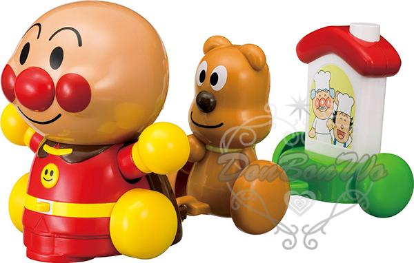 麵包超人電動聲音玩具小火車311718通販屋