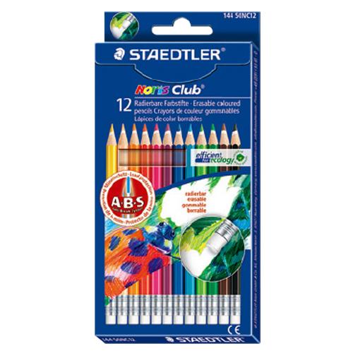 STAEDTLER施德樓MS14450NC12可擦拭色鉛筆