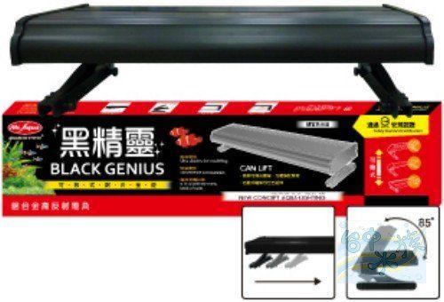 台中水族MR-AQUA黑精靈認證水族燈具4.8尺雙燈FL40W*2特價