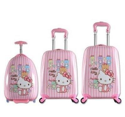兒童行李箱卡通KT箱特價清倉處理18吋藍星居家