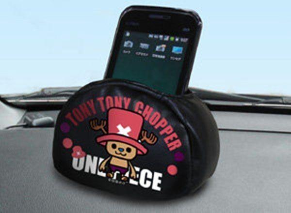 車之嚴選cars go汽車用品CE60日本ONE PIECE航海王海賊王PW喬巴手機置物袋收納袋