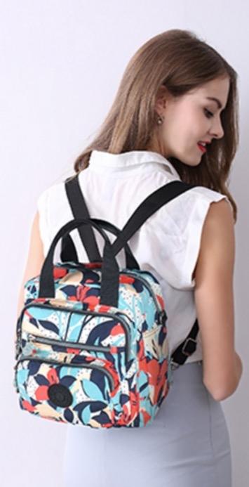 熱銷日韓Canvas Bag高級帆布料多功能三用包男女學生書包斜背包旅遊旅行行李運動後背包