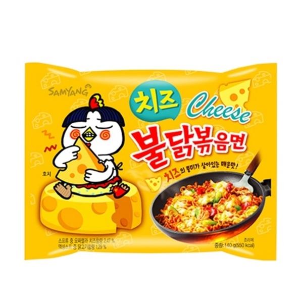 韓國三養 起司火辣雞炒麵-4入/袋,超夯新絕讚口味