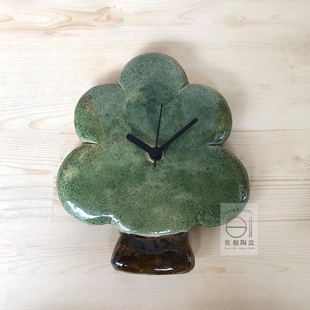 佐和陶瓷餐具批發XL060416-1BMONOZO老實樹時鐘-日本製時鐘家用餐廳精緻擺飾