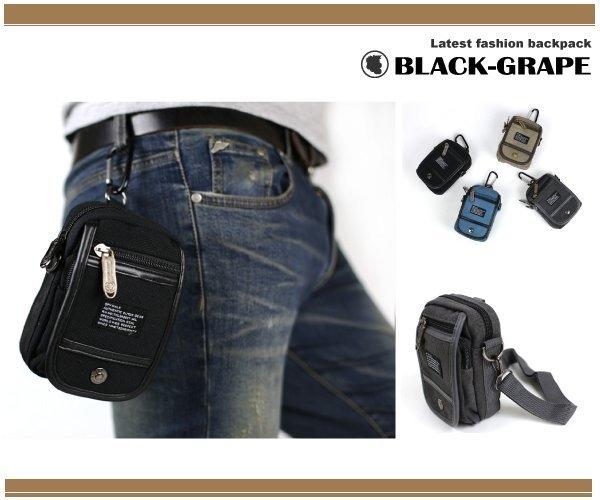 韓國-掛包 翻蓋高磅 單車掛包 / 單車背包 / 側背包 / 可放i phone 6s--多色選擇【S9819】黑葡萄包包