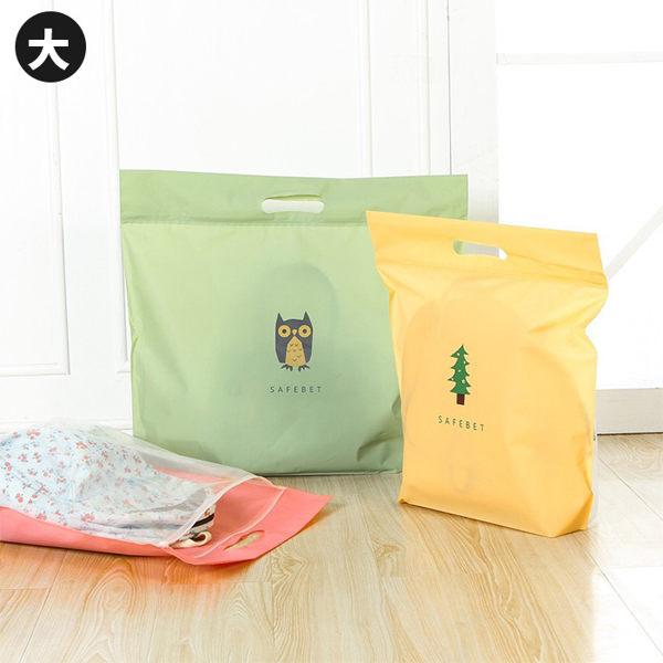 卡通圖案包包收納袋大旅行收納袋雙面衣櫃皮包防塵袋包包防塵收納袋