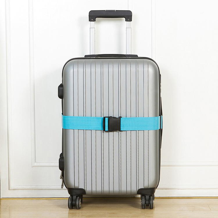 《J 精選》潮流時尚馬卡龍色創意行李箱束帶/綁帶(可選色)