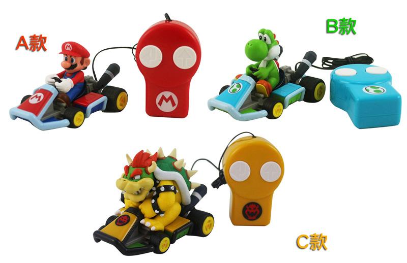 【卡漫城】 瑪莉歐 賽車 3款選1 ㊣版 Mario 線控遙控車 兒童玩具 線長106公分 遙控車 日版