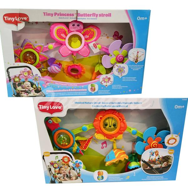 one more美國代購正品美國Tiny Love造型轉盤拉球玩具嬰兒手推車汽座提籃夾置玩具感官玩具