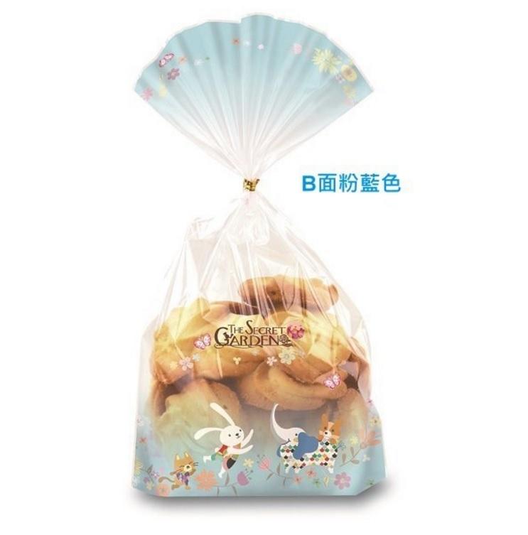 100入手繪風可愛動物包裝袋opp袋透明袋麵包袋餅乾袋糖果袋透明袋婚禮小物吐司袋