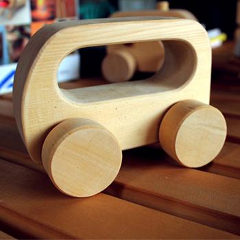 【木樂館】原木玩具車│阿拉斯加扁柏黃檜│天然無毒嬰幼兒兒童益智安全玩具車