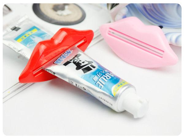 性感 嘴唇 多用 擠壓器 擠牙膏器 2只裝《4G手機》