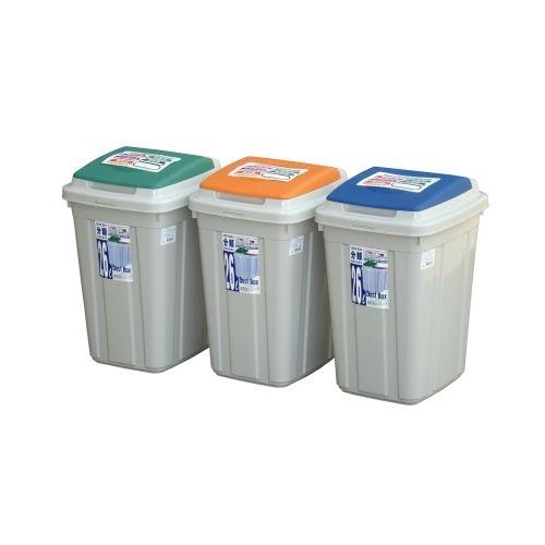 KEYWAY日式分類附蓋垃圾桶CL26愛買