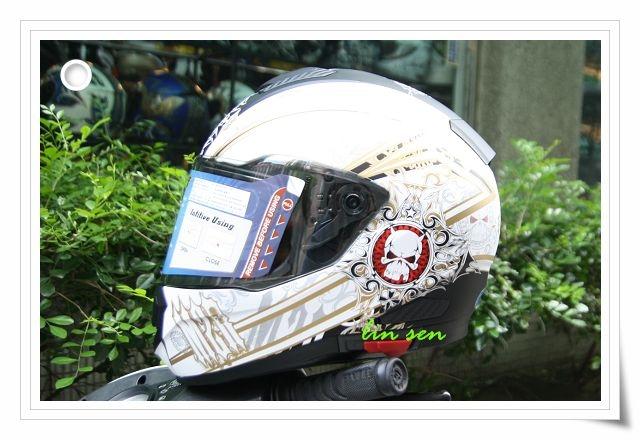 M2R安全帽F5 2消光黑金