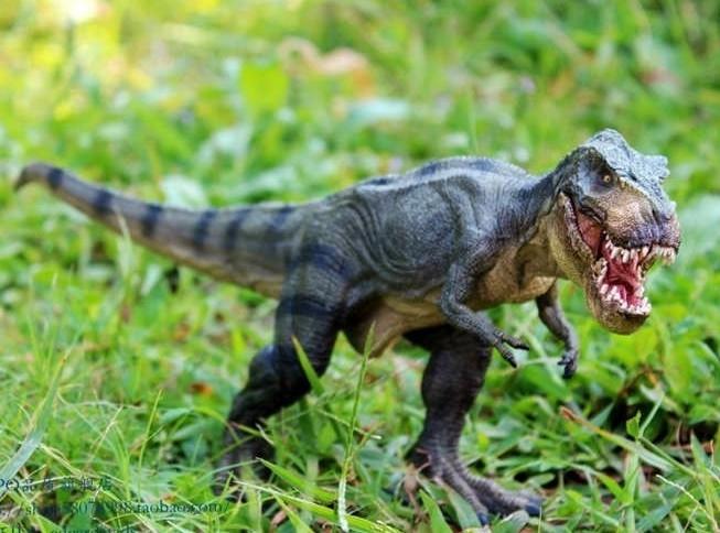 協貿國際侏羅紀世界公園恐龍玩具霸王龍行進暴龍