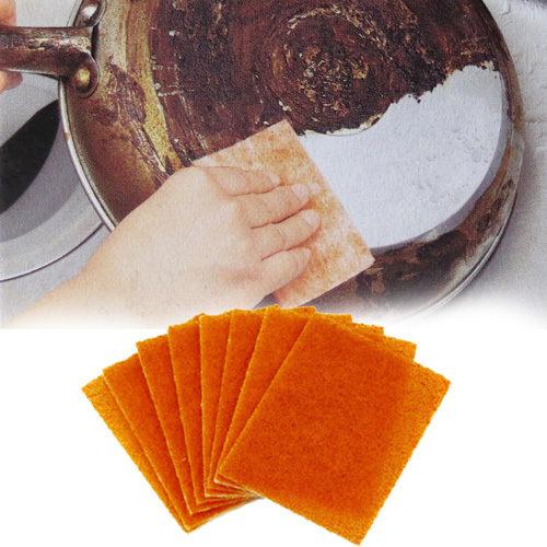 鑽石去焦菜瓜布(20枚) / 去焦布 / 擦鍋清潔刷布 / 去焦除垢刷布