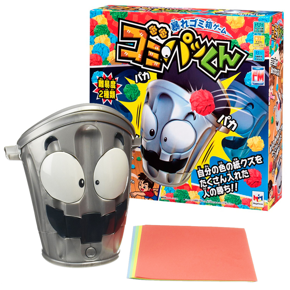 MIJ日本跑跑垃圾桶桌遊組MegaHouse出品玩具