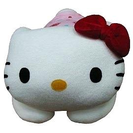 波克貓哈日網造型抱枕午睡枕Hello Kitty貓補貨到囉