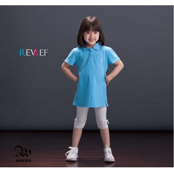 小女孩經典長版POLO衫-[Winceys] REVREF