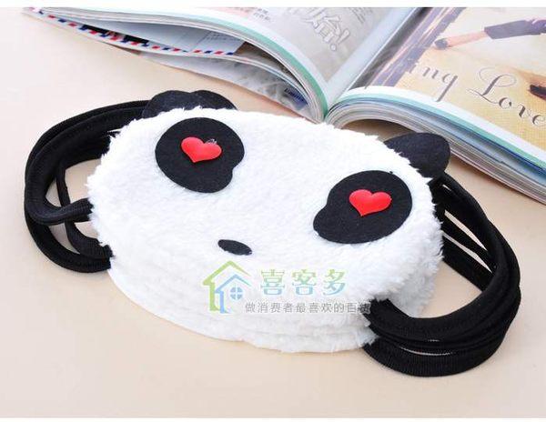 TwinS超萌毛絨熊貓純棉保暖口罩款式一律隨機出貨