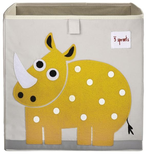 【加拿大 3 Sprouts】收納箱-小犀牛款