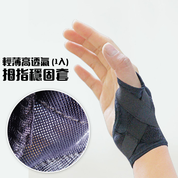 BodyVine 巴迪蔓 調整型護具 拇指穩固套 輕薄高透氣 1隻