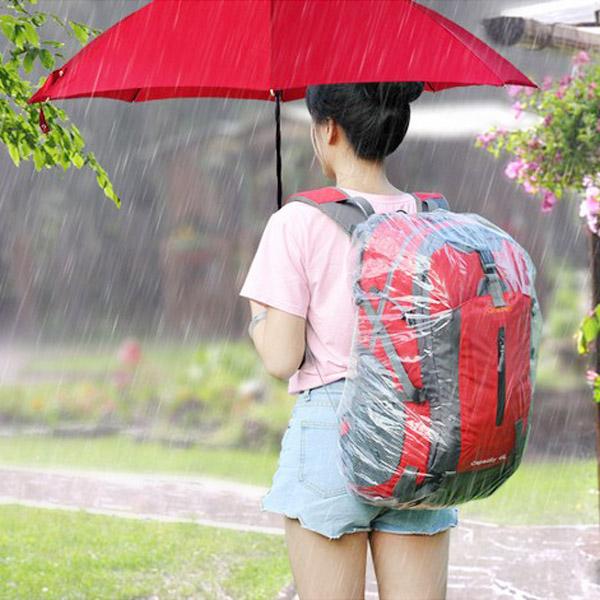 【生活夯貨2件55折】【BlueCat】一次性登山背包防雨防水套/防水罩(M號)