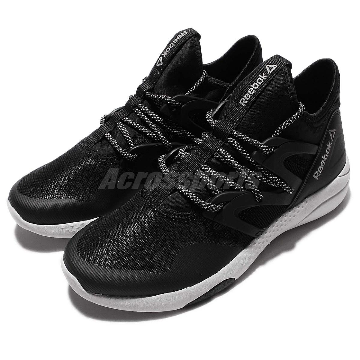 Reebok休閒鞋Hayasu黑白白底跳舞鞋運動鞋反光女鞋PUMP306 AQ9883