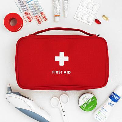 韓版醫藥包手提護理包隨身急救包隨身藥盒藥包急救包收納包出國戶外露營RB421