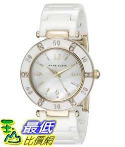 104美國直購Anne Klein Women s 109416WTWT Swarovski Crystal-Accented Watch女士手錶