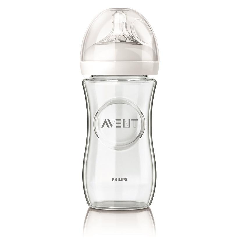 Philips Avent 新安怡 - 親乳感玻璃防脹氣奶瓶 240ml