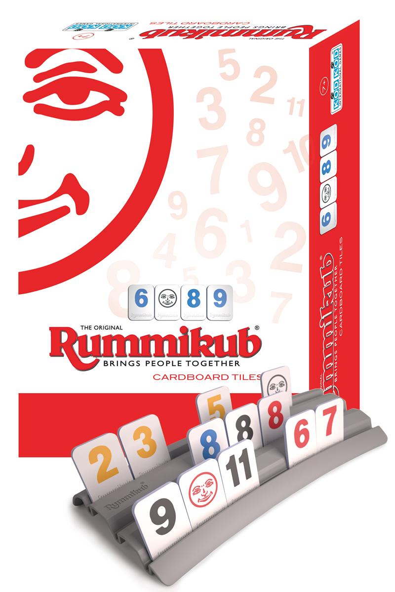 高雄龐奇桌遊拉密外出型簡易版Rummikub Cardboard Lite正版桌上遊戲專賣店