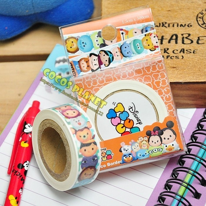 迪士尼紙膠帶 疊疊樂 TUSM TUSM 彩色紙膠帶 膠帶 彩色膠帶 COCOS DT040 A款