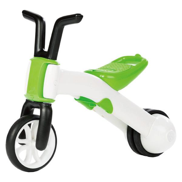 比利時Chillafish二合一漸進式玩具Bunzi寶寶平衡車滑步車-青草綠~麗兒采家