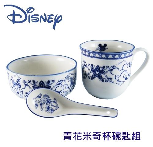 【佳麗寶】-(迪士尼 )米奇杯碗匙組【DSM-2013】