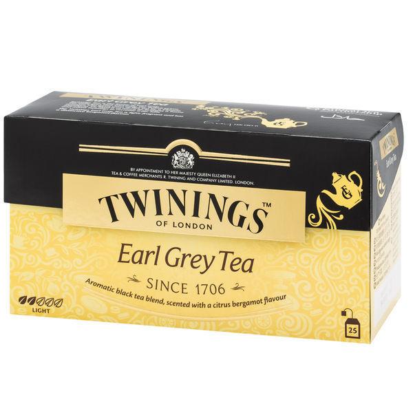 英國《TWININGS 唐寧》EARL GREY TEA 皇家伯爵茶包2*25入/盒