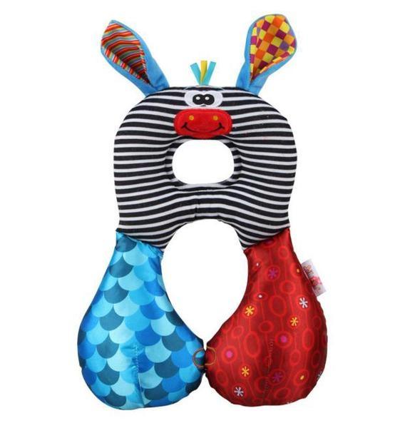 【滿額免運費】【可愛長頸鹿】寶寶兒童護頸枕/安全旅行枕/u型記憶枕/安全座椅枕