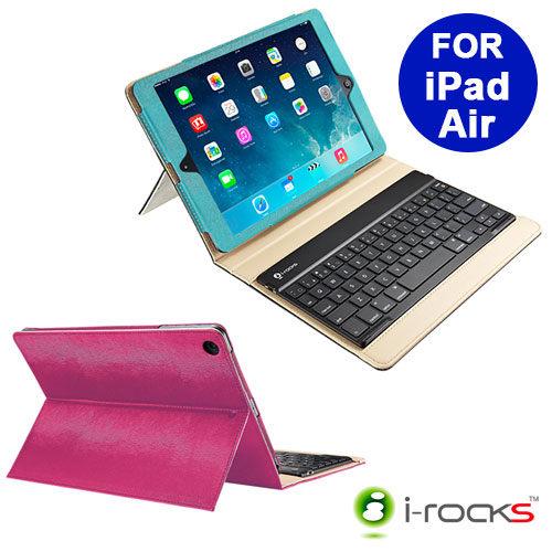 i-rocks鍵盤保護殼藍芽鍵盤iPad Air保護套IRC32K