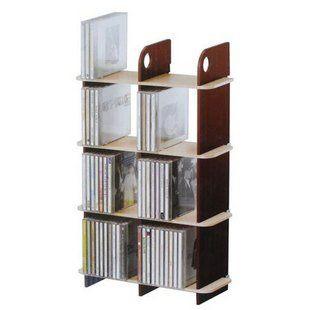 艾華士96片四層八格CD/DVD架