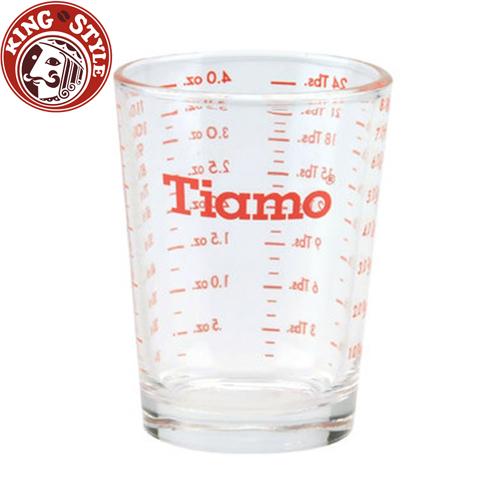 金時代書香咖啡【Tiamo】玻璃量杯 4oz 120cc