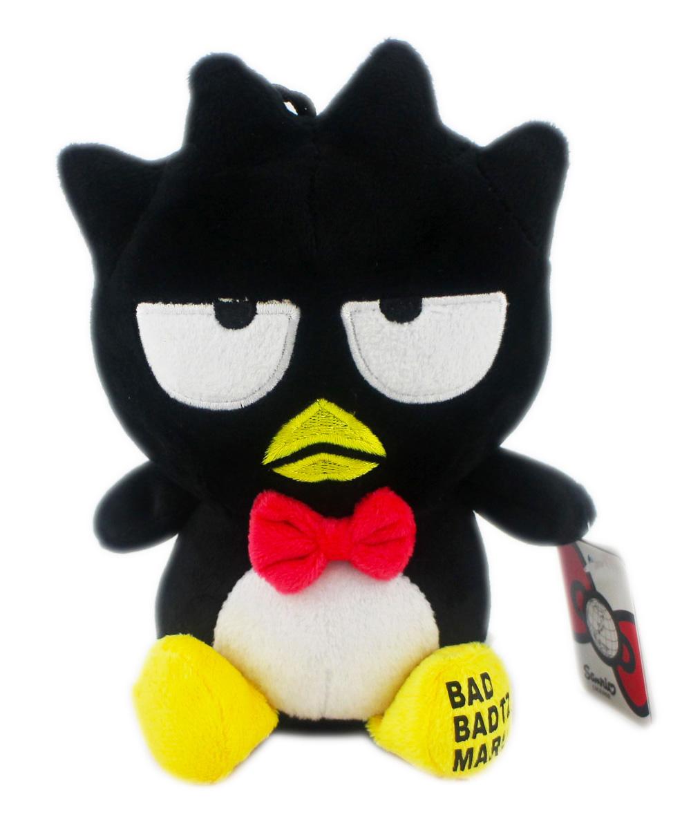 【卡漫城】 酷企鵝 玩偶 19cm 絨毛 ㊣版 Badtz Maru 禮物 裝飾品 擺飾 娃娃 布偶 附吊繩