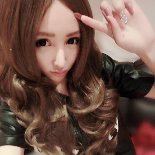 中長捲髮首爾時尚街頭中長波浪大捲髮MA031雙兒網