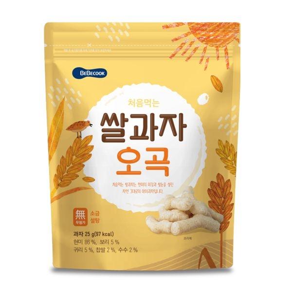 韓國 智慧媽媽 BEBECOOK 穀物棒/米餅(7個月以上)