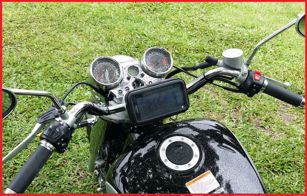 ktm yamaha 125 125fi頂級迅光神雕勁風光新風光新勁戰摩托車導航架重機車導航座摩托車環島手機車架