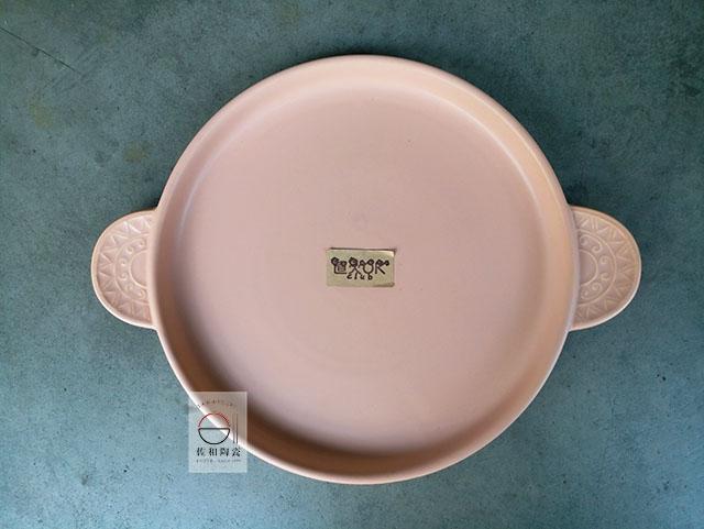 佐和陶瓷餐具批發XL060842-5太陽11吋耐熱陶板-日本製耐熱陶板燒肉烤盤