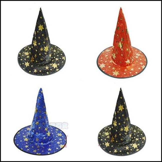 巫婆帽 萬聖節  哈利波特 魔法帽 魔術帽 道具 搞怪/惡搞/尾牙/變裝/遊行/COS 佈置裝飾【塔克】