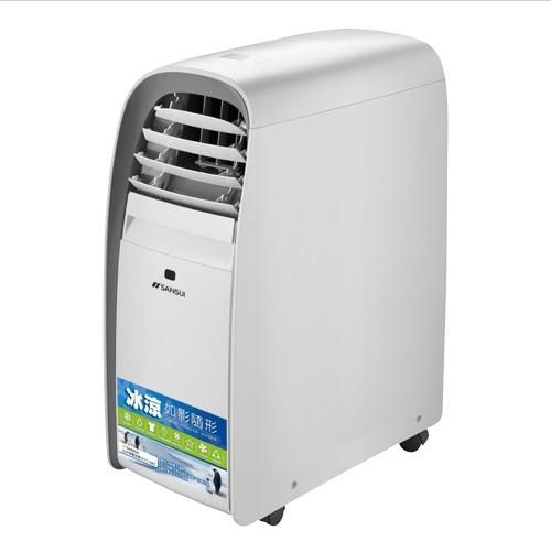SANSUI山水移動式冷氣STC08C採用銀離子二氧化鈦濾網空氣清淨及除菌功能24期0利率
