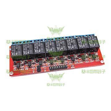 ◤大洋國際電子◢ 24V 4路繼電器驅動版 0~3V低電平驅動